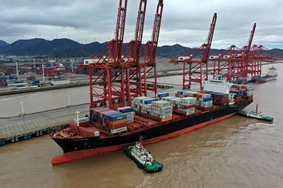 Ningbo-Zhoushan Port strengthens trade with B&R countries